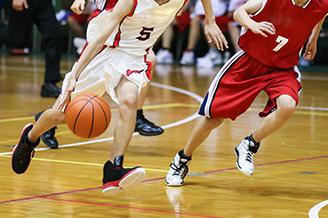 高校のバスケ部合宿会